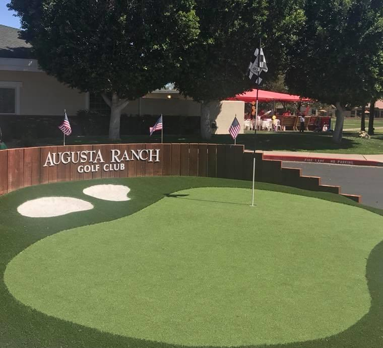 Augusta Ranch Entry Circle